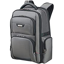 "Samsonite Pro-DLX 4 Laptop Backpack 15,6"" Mochila Tipo Casual, 24 Litros, Color Gris"