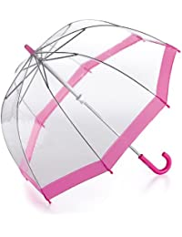 MINI BIRDCAGE parapluie transparent - rose