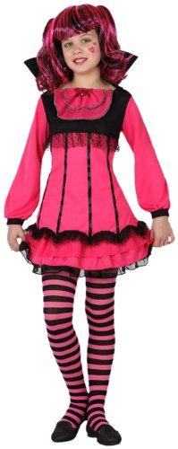 Atosa 8422259150008 - Verkleidung Weibliche Vampir Mädchen, Größe: 128 (Vampir Weibliche Kostüme)