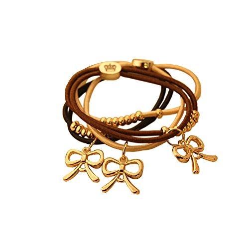 3 pièce bowknot bandeaux / joli accessoires pour cheveux, couleur aléatoire