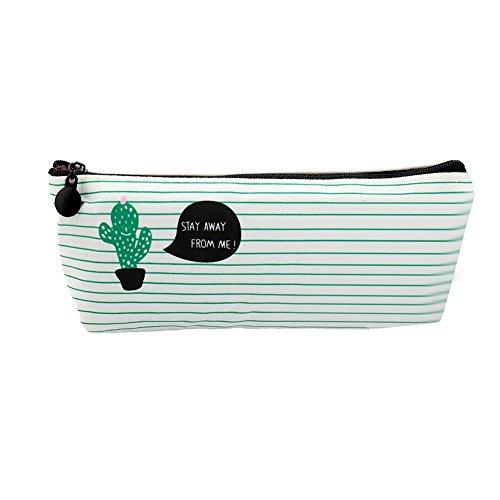 Herbests Portemonnaie Börse für Währung clé-Carte, Frauen Mini Wallet Tür Karte Vintage Geldbörse Mignon Kaktus TOLIE Brieftasche aus Stoff Tür Währung Damen, Cactus 1#, Cactus 1# -