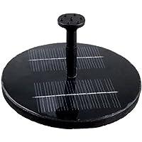 flintronic Solar-Potere Pompa, Pompa Acqua Solare / Fontana Solare con Pannello Solare per Decorazione di Giardino Piscina