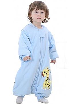 baby schlafsack winter schlafanzug mädchen junge mit beine neugeboren strampler baumwolle Overalls Strampelanzug...