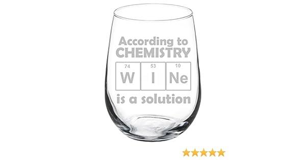 Drink Periodically Laboratory Beaker Wine Glass 8oz