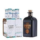 COPPERHEAD - The Alchemists Black Batch + LAMB & WATT TONIC WATER (4 x 0,2L)