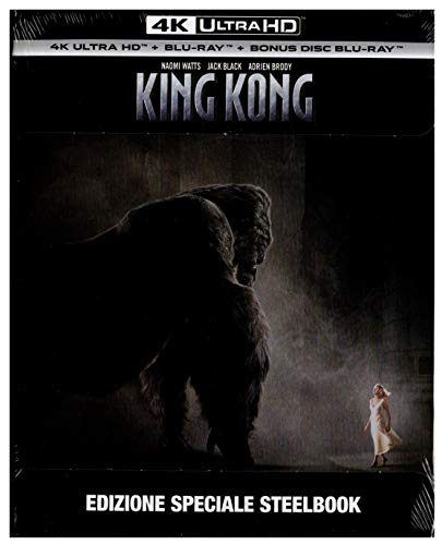 KING KONG - 4K Ultra HD Blu-Ray Disc [Edizione Speciale STEELBOOK]
