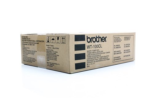 Preisvergleich Produktbild Original Resttonerbehälter Brother WT100CL , WT-100CL - Premium Tonerbehälter - 20.000 Seiten