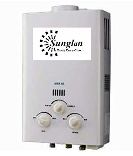 Sunglan Dual 6 Ltr LPG Gas - Geysers White-70003