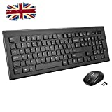 Best Apple Ergonomic Keyboards - Wireless Keyboard and Mouse Set, 【Stylish Design, Long Review