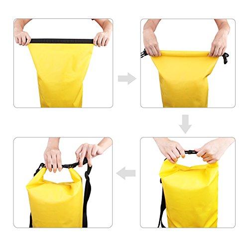 e5e3eeec9c6 Premium bolsa impermeable estanca 20L seca de PVC - Set de bolsa ...