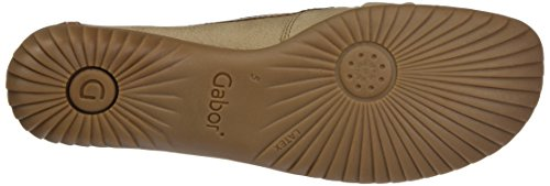 Gabor Damen Comfort Basic Slipper Beige (Corda/Copper)