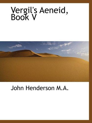Vergil's Aeneid, Book V