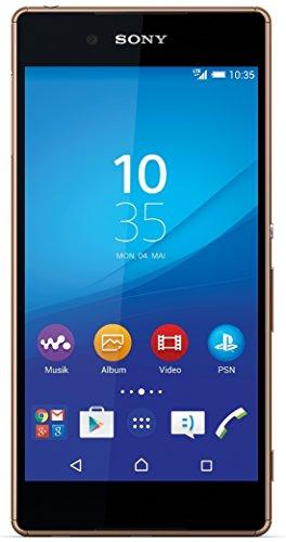 Sony Xperia Z3+ Smartphone, Display 5 Pollici FHD, Octa-Core Processore, 32 GB Memoria, 20.7 MP Fotocamera, Android 5.0, Rame [Germania]