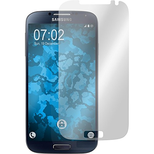 PhoneNatic 2er-Pack Displayschutzfolien klar kompatibel mit Samsung Galaxy S4 (Display-schutzfolien Galaxy S4)