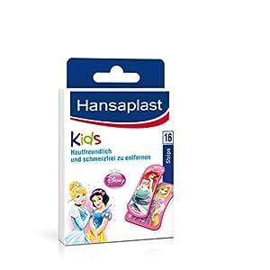 Hansaplast 16 Pansements pour Enfants Princesse Disney Lot de  2