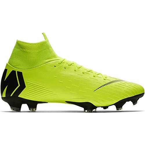 Nike Herren Mercurial Vapor XII Pro FG Fußballschuhe, Schwarz Anthracite-Black-Lt Crim 001, 39 EU -