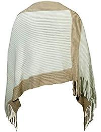 Ponchos y capas de punto para mujer   Amazon.es