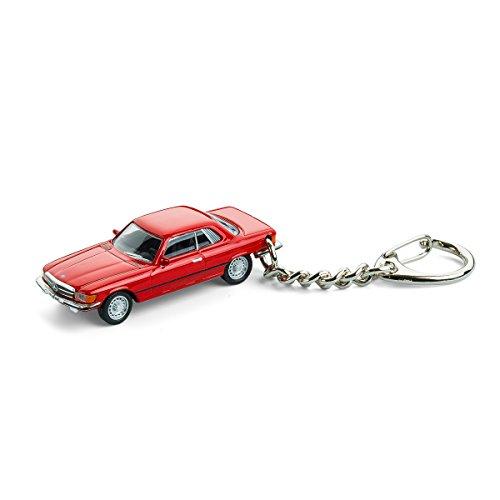 Llavero con coche en miniatura, Mercedes-Benz 450 SLC, 1:87