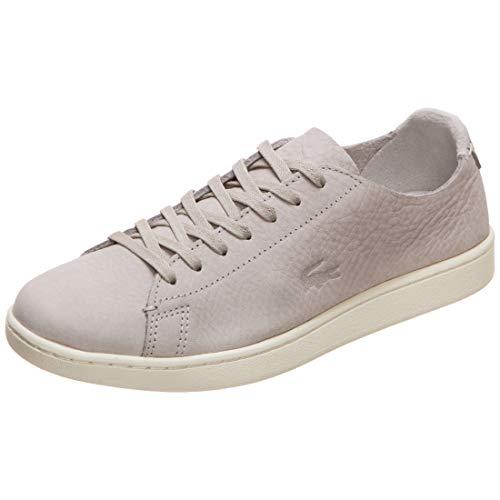 Lacoste Carnaby Evo Sneaker Damen grau, 7 UK - 40.5 EU - 9 US