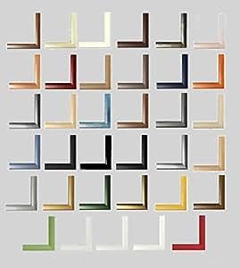 Colorado Cadre MDF Cadre photo poster, MDF, Nussbaum dunkel, Verglasung: Acrylglas klar