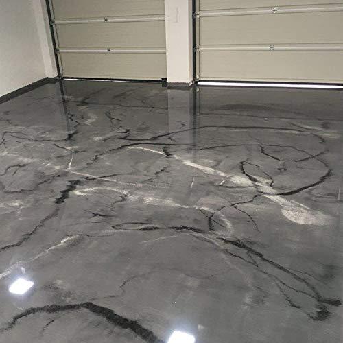 Komplett-Set Home Profis® HPBI-500 Epoxidharz Marmor Optik Bodenbeschichtung Innen (20m²) Epoxy Garage Werkstatt Keller Badezimmer Bodenfarbe & Fliesenfarbe