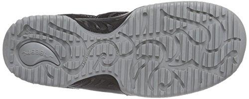 Proteq Sicherheitsschuhe uni6 1721 Halbschuh   S1  Stahlkappe, Chaussures de sécurité mixte adulte Noir