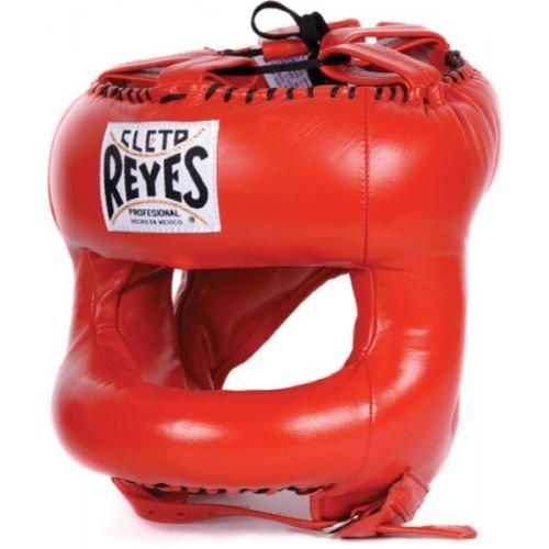 Cleto Reyes Gratis Boxen Kopfschutz Abgerundete Nylon Face Bar Rot Boxen Sparring von minotaurfightstore