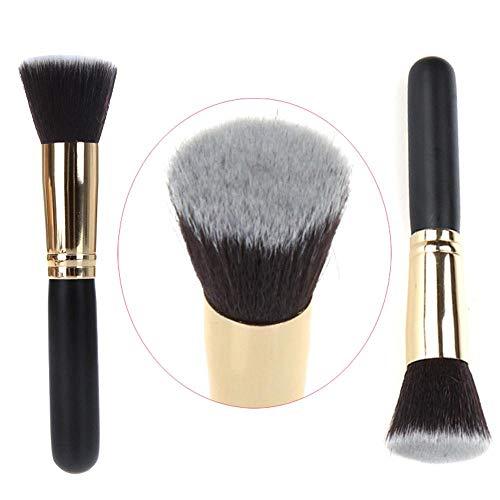 Cwemimifa Make-Up Pinsel Set 1 Stück Puderpinsel und Foundation Brush Kabuki Pinsel Kosmetik-Tools...