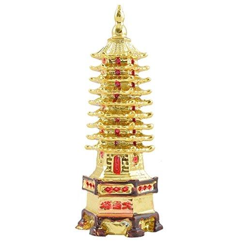 Feng Shui de oro Odishabazar educación torre de éxito académico para mesa de estudio del niño
