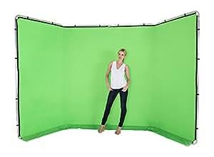 Lastolite Panoramic Background 4m (13') Chromakey Green (7622)