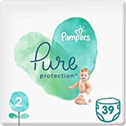 Pampers Pure Protection, Size 2, 4-8 kg, 39 Diapers