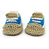 Baskets bébé garçon, Style bébé garçon converse, Pantoufles bébé garçon, Chaussons de bébé au crochet, Baskets bleus, Style Converse, Bottes pour bébés, Cadeau de naissance