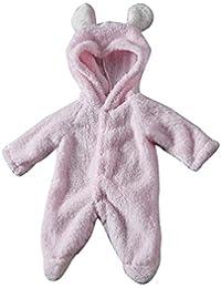 Covermason Bebé Unisex Lindo Orejas Sudaderas con Capucha Protección Pies Mono Bodies