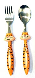 Kids Cartoon Character 1pc Fork & Spoon Set, Lunch Box Companion, Dinning Table Companion For Your Naughty Kiddos who likes Cartoons