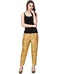 oneOeightdesigns Cotton Silk Pant with cotton lining (Size-XL,XXL,XXXL) Magenta,Royal Blue,Red,Orange,Golden,Black,White