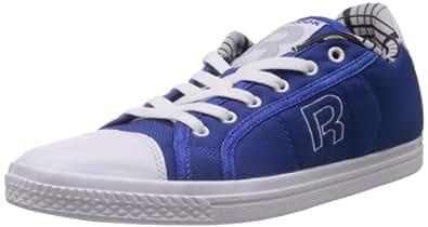 Reebok Classics Men's On Court V LP White and Blue Mesh Running Shoes - 12 UK