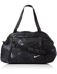 Nike Auralux Club Print Mochila, Mujer, Gris (Dark Grey / Black / Pure Platinum), Talla Única