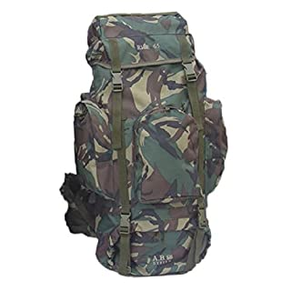 RMR Military Style Backpack - 65L (Camouflage)