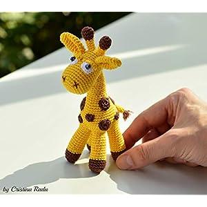 Giraffe Plüsch, Kuscheltiere Geschenk, gelbes Tier, afrikanische Safari