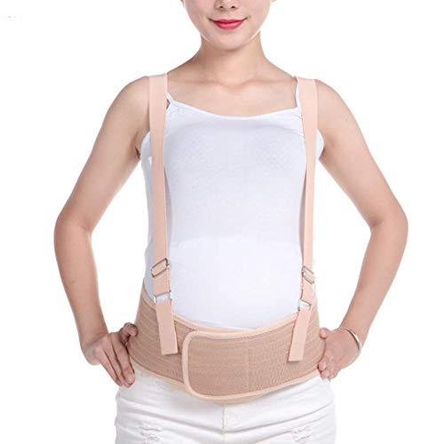 LRKZ Schwangere Halten Den Bauchgurt, Den Atmungsaktiven Bauchgurt Nach Der Geburt, Den Schultergurt, Den Bauchliftgurt,Flesh (Für Die Schwangerschaft Bauch-binder)