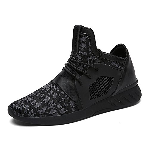 XIANV Sommer Herren Sneaker Mode Casual Schuhe Soft Breathable Mesh Frühjahr Lace-Up 2017 Männer Schuhe Bequeme Schuhe Männer (39, Grau) (Grau Mesh-schuhe)