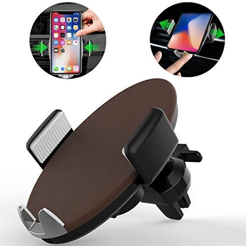 BZN HMT3 aire del coche montaje de la salida ABS inteligente automático sostenedor de la abrazadera soporte del teléfono, for el iPhone, Galaxy, Sony, Lenovo, HTC, Huawei y otros teléfonos inteligente