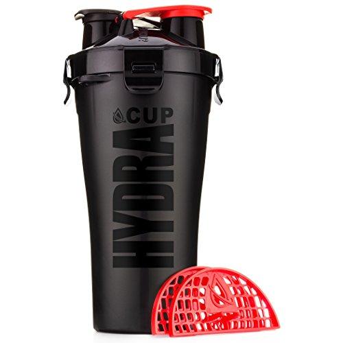 Hydracup Doble Agitador de 828ml,, Stealth Black, suelto