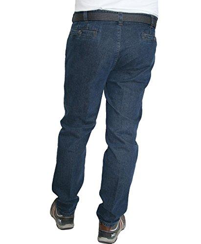 Meyer Herren Stretch Jeans Diego 9-451 stone blue, dunkelgrau oder schwarz Mehrfarbig