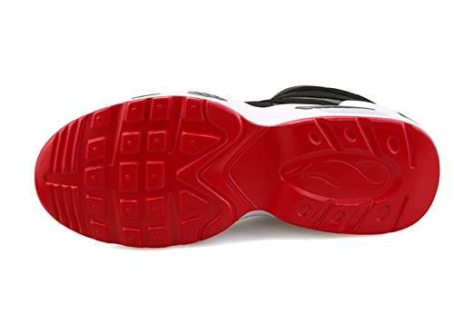 Besporter - Scarpe sportive uomo Black&Red