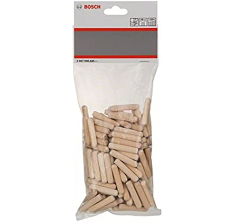 BOX OF100-En bois Goujons meubles Plugs M8 8 mm x 40 mm 8G5