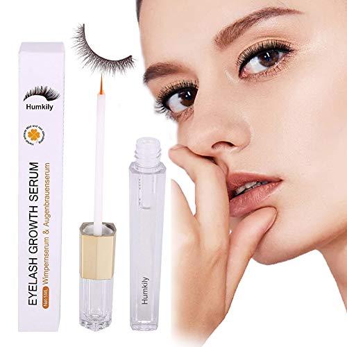 Siero ciglia,eyelash serum enhancer,condizionatore ciglia,siero per la crescita di ciglia e sopracciglia da 5ml,booster per una rapida crescita delle ciglia, per ciglia e sopracciglia lunghe e dense