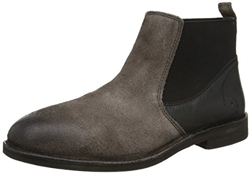 FLY London Wazi938fly, Bottes Chelsea Homme Noir (Ash/Black 000)