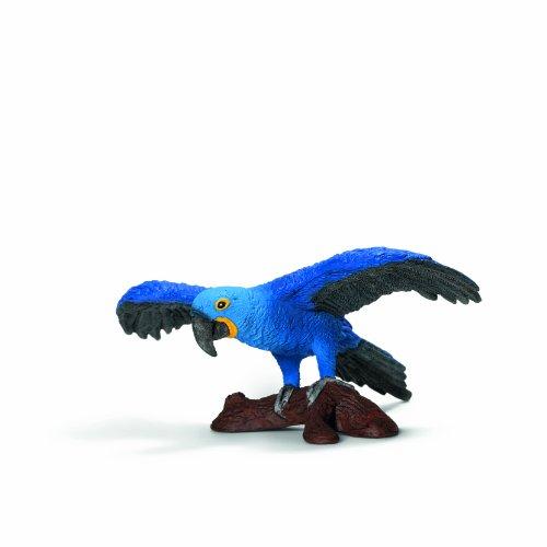 Schleich Figura guacamayo, color azul (14689)