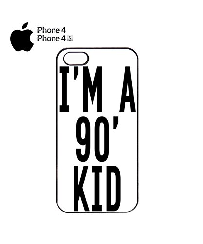 I'm a 90's Kid Mobile Phone Case Cover iPhone 6 Plus + White Noir